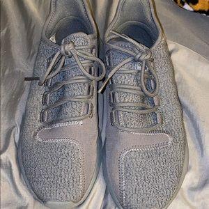 Women's gray adidas